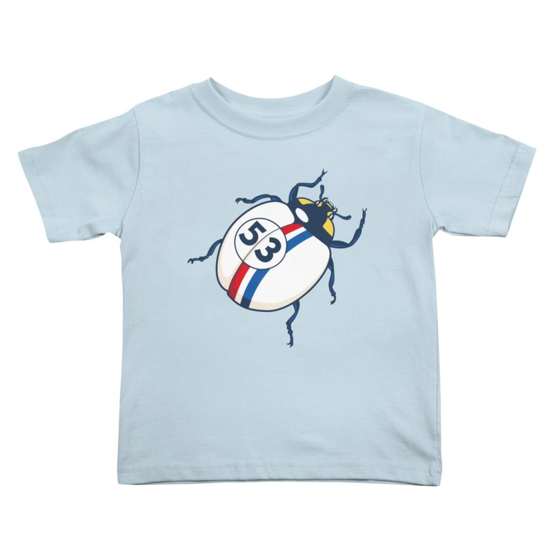 The Love Bug Kids Toddler T-Shirt by The Bulgrin Shop