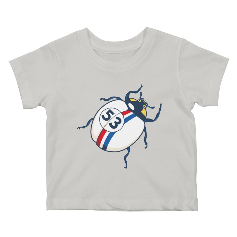 The Love Bug Kids Baby T-Shirt by The Bulgrin Shop