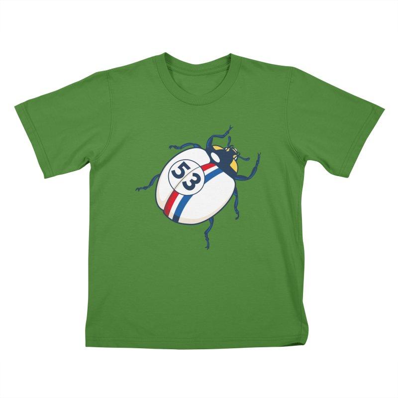 The Love Bug Kids T-shirt by The Bulgrin Shop