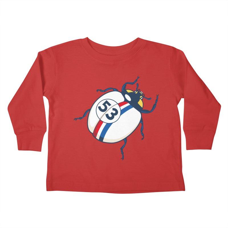 The Love Bug Kids Toddler Longsleeve T-Shirt by The Bulgrin Shop