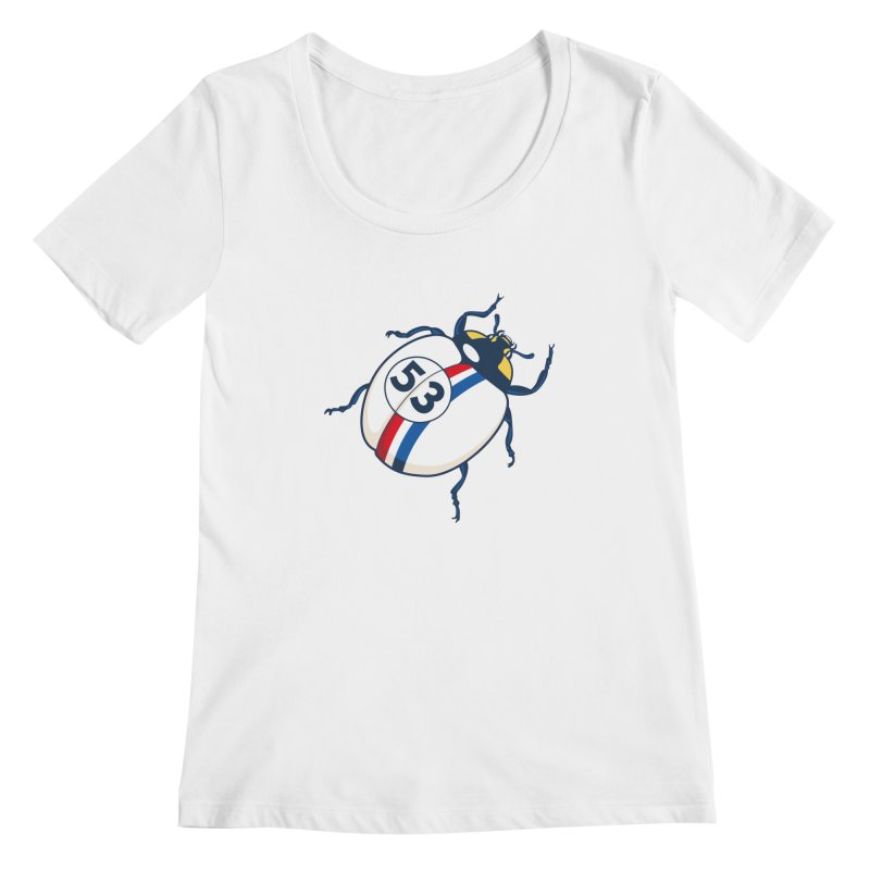 The Love Bug Women's Scoopneck by The Bulgrin Shop