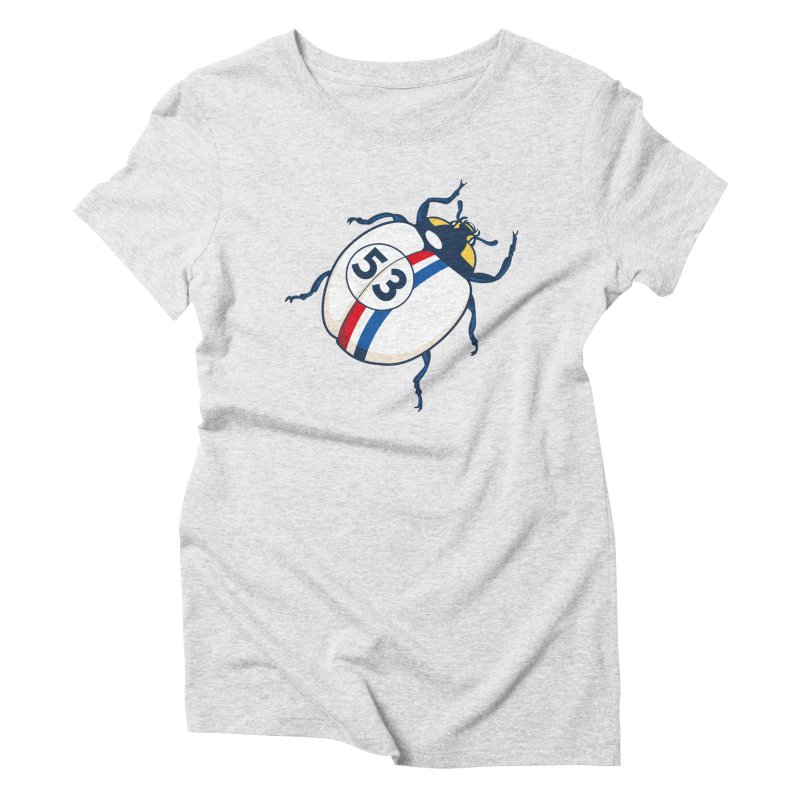 The Love Bug Women's Triblend T-Shirt by The Bulgrin Shop