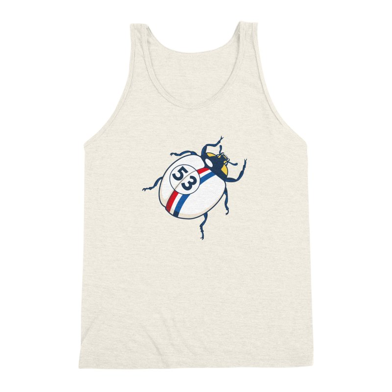 The Love Bug Men's Triblend Tank by The Bulgrin Shop
