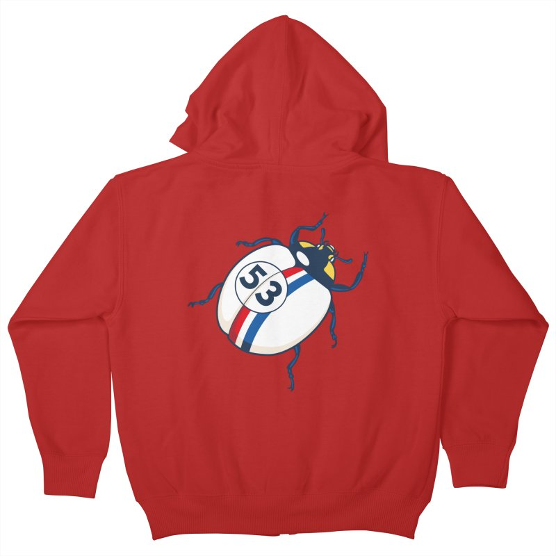The Love Bug Kids Zip-Up Hoody by The Bulgrin Shop