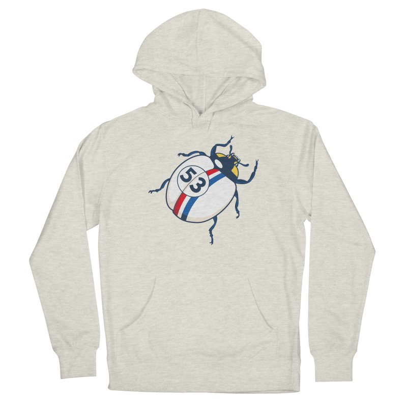The Love Bug Women's French Terry Pullover Hoody by The Bulgrin Shop