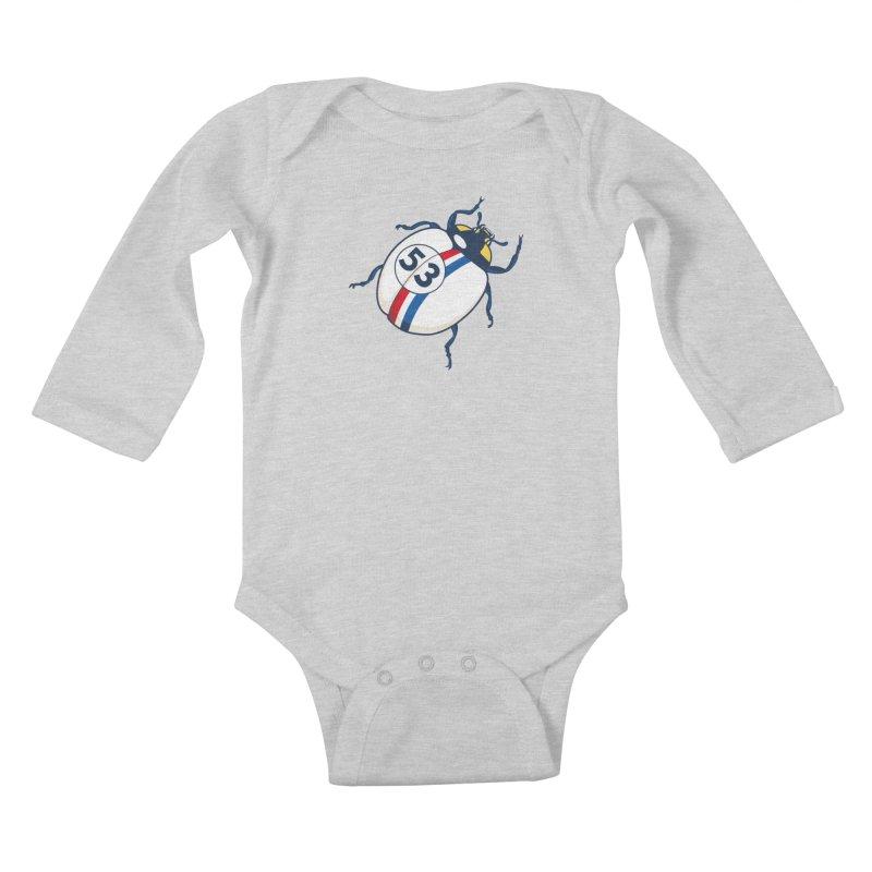The Love Bug Kids Baby Longsleeve Bodysuit by The Bulgrin Shop