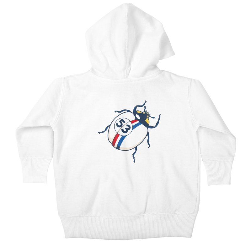 The Love Bug Kids Baby Zip-Up Hoody by The Bulgrin Shop