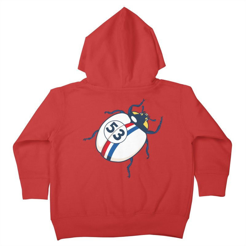The Love Bug Kids Toddler Zip-Up Hoody by The Bulgrin Shop