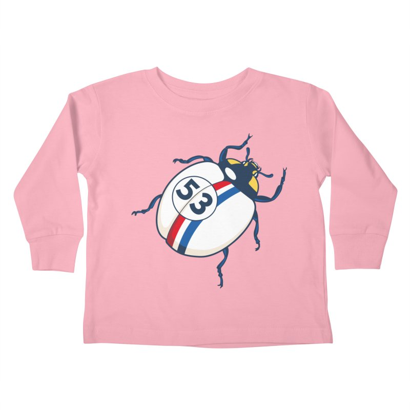 The Love Bug Kids Toddler Longsleeve T-Shirt by The Bulgrin Shop