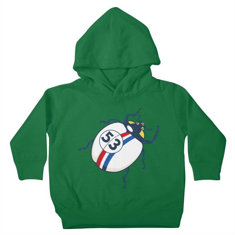 The Love Bug Kids Toddler Pullover Hoody by The Bulgrin Shop