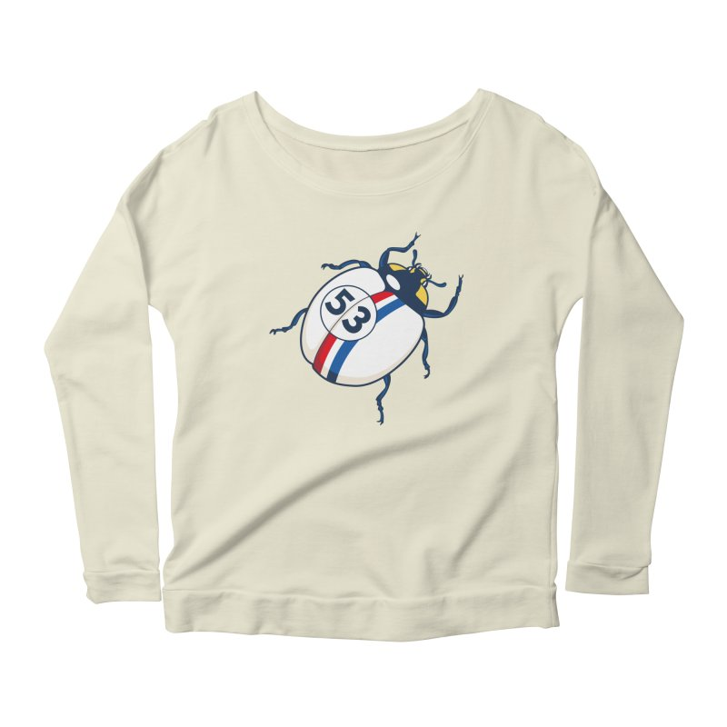 The Love Bug Women's Scoop Neck Longsleeve T-Shirt by The Bulgrin Shop