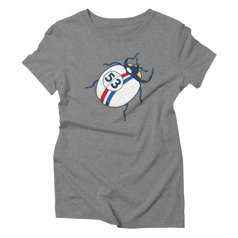 The Love Bug Women's Triblend T-Shirt by The Bulgrin Shop