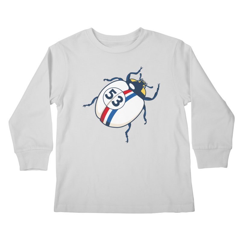 The Love Bug Kids Longsleeve T-Shirt by The Bulgrin Shop
