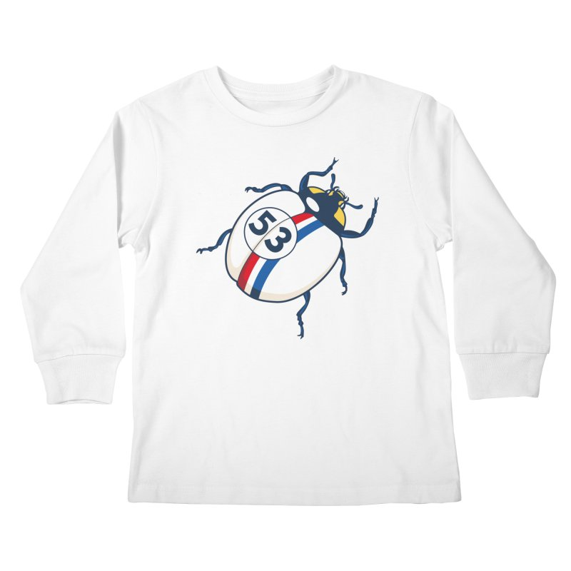 The Love Bug Kids Longsleeve T-Shirt by The Bulgrin Shop
