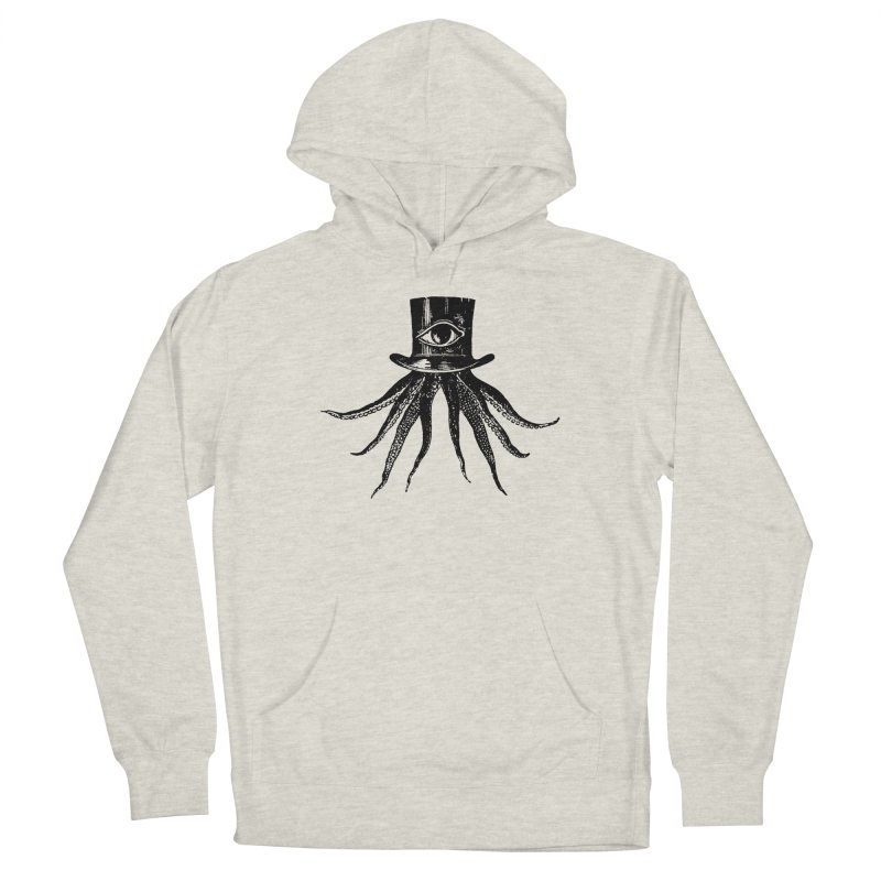 Octopus Men's French Terry Pullover Hoody by The Bulgrin Shop