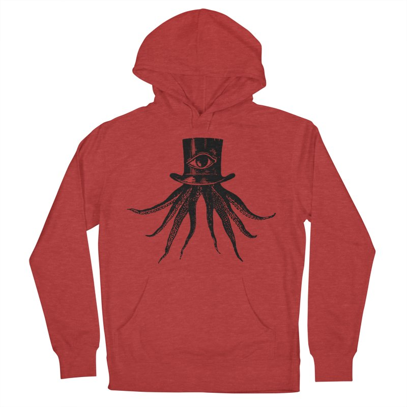 Octopus Women's French Terry Pullover Hoody by The Bulgrin Shop