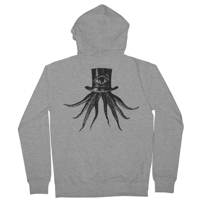 Octopus Women's French Terry Zip-Up Hoody by The Bulgrin Shop