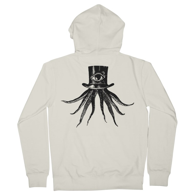 Octopus Men's French Terry Zip-Up Hoody by The Bulgrin Shop