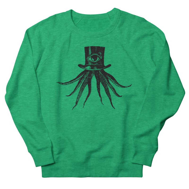 Octopus Women's French Terry Sweatshirt by The Bulgrin Shop