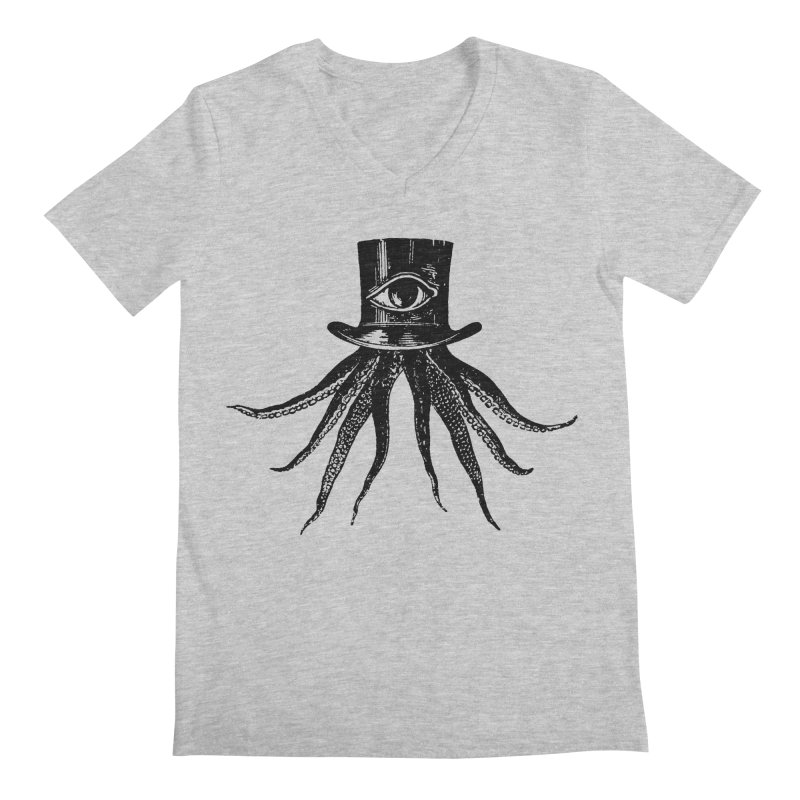 Octopus Men's V-Neck by The Bulgrin Shop