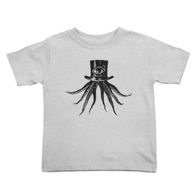 Octopus Kids Toddler T-Shirt by The Bulgrin Shop