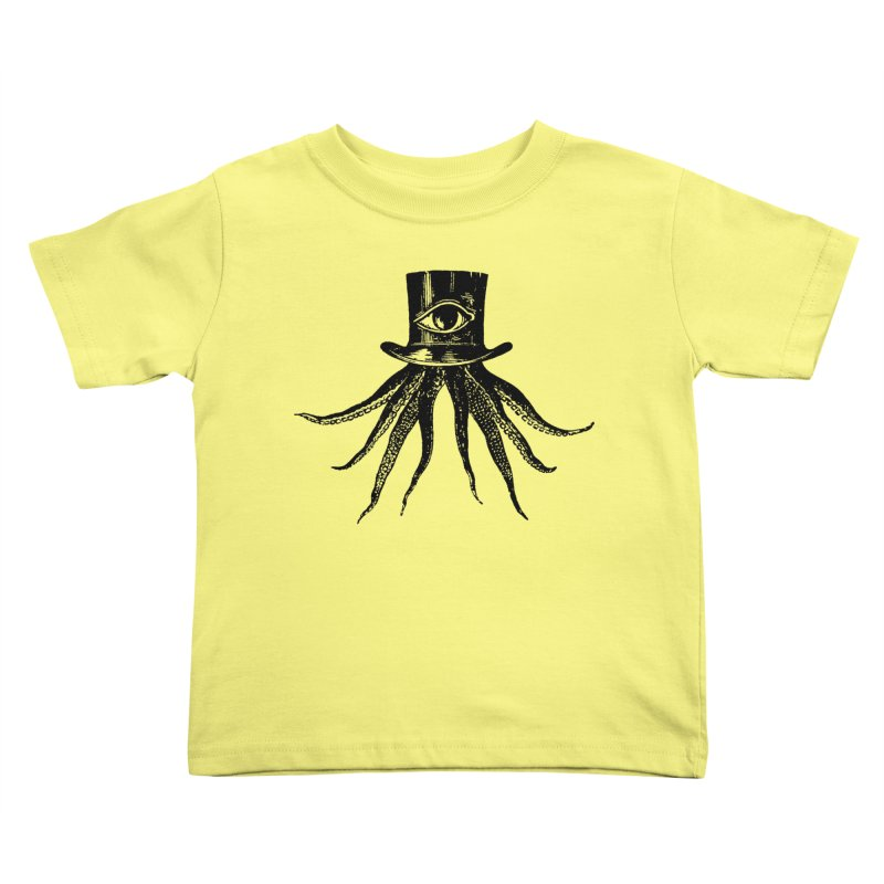 Octopus Kids Toddler T-Shirt by The Bulgrin Shop