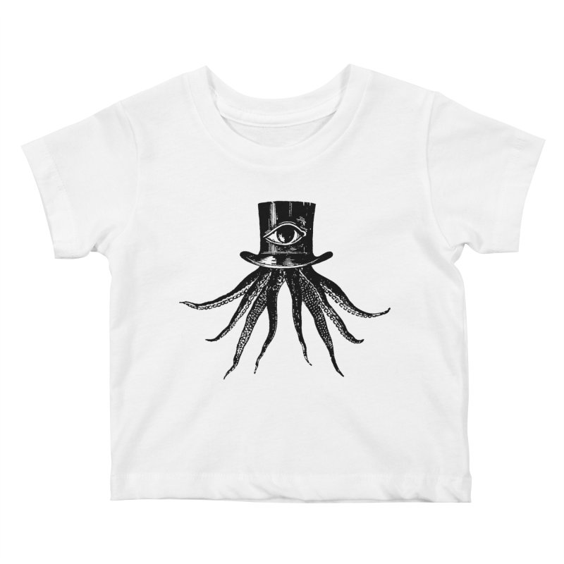 Octopus Kids Baby T-Shirt by The Bulgrin Shop