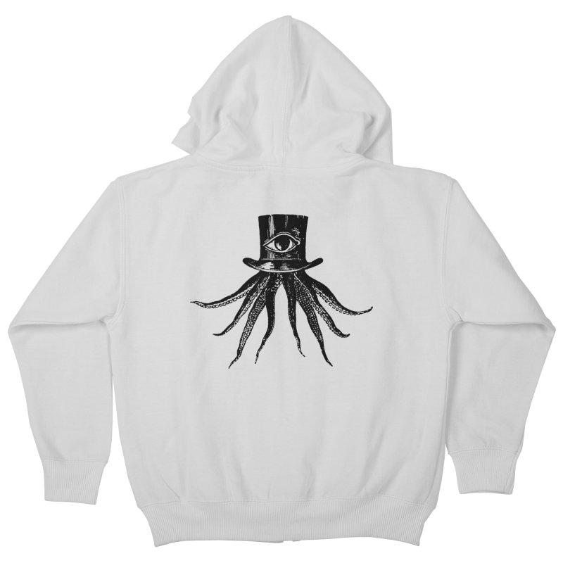 Octopus Kids Zip-Up Hoody by The Bulgrin Shop