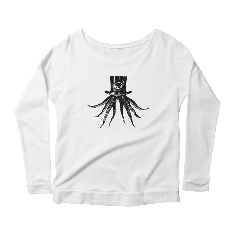 Octopus Women's Scoop Neck Longsleeve T-Shirt by The Bulgrin Shop