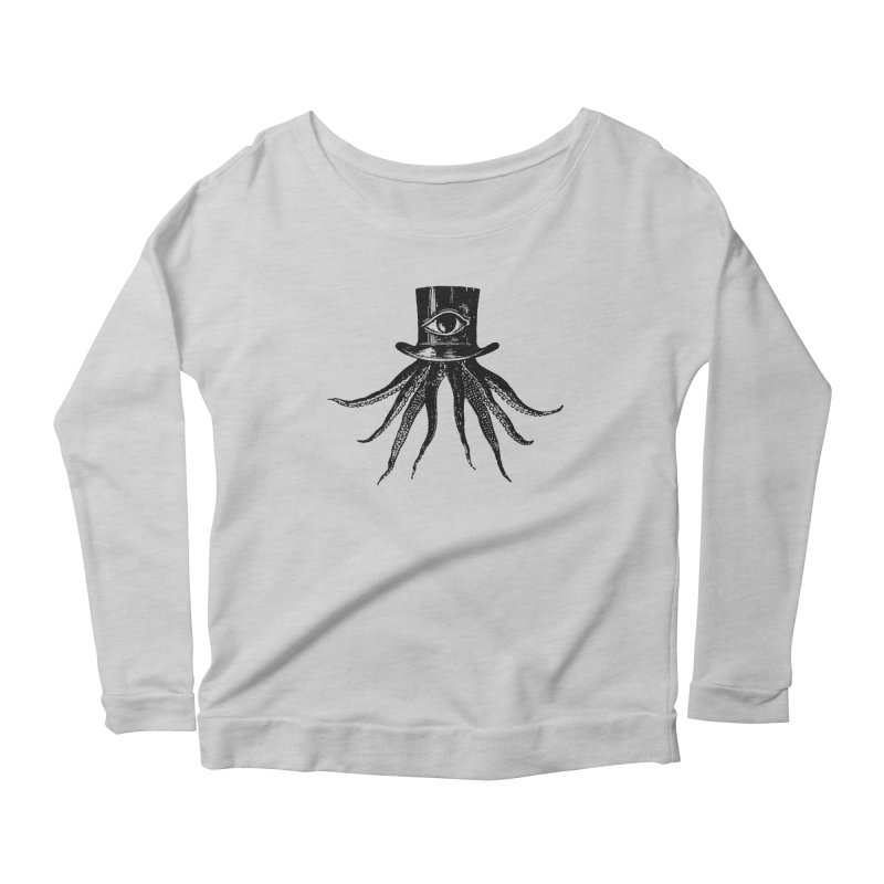 Octopus Women's Scoop Neck Longsleeve T-Shirt by The Bulgrin Shop