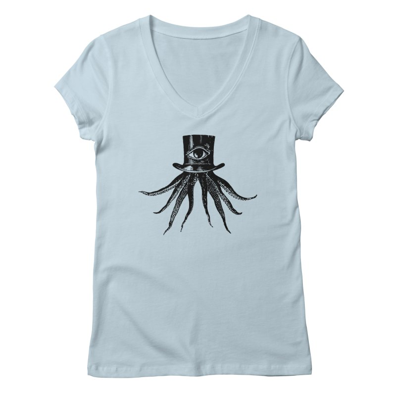 Octopus Women's V-Neck by The Bulgrin Shop