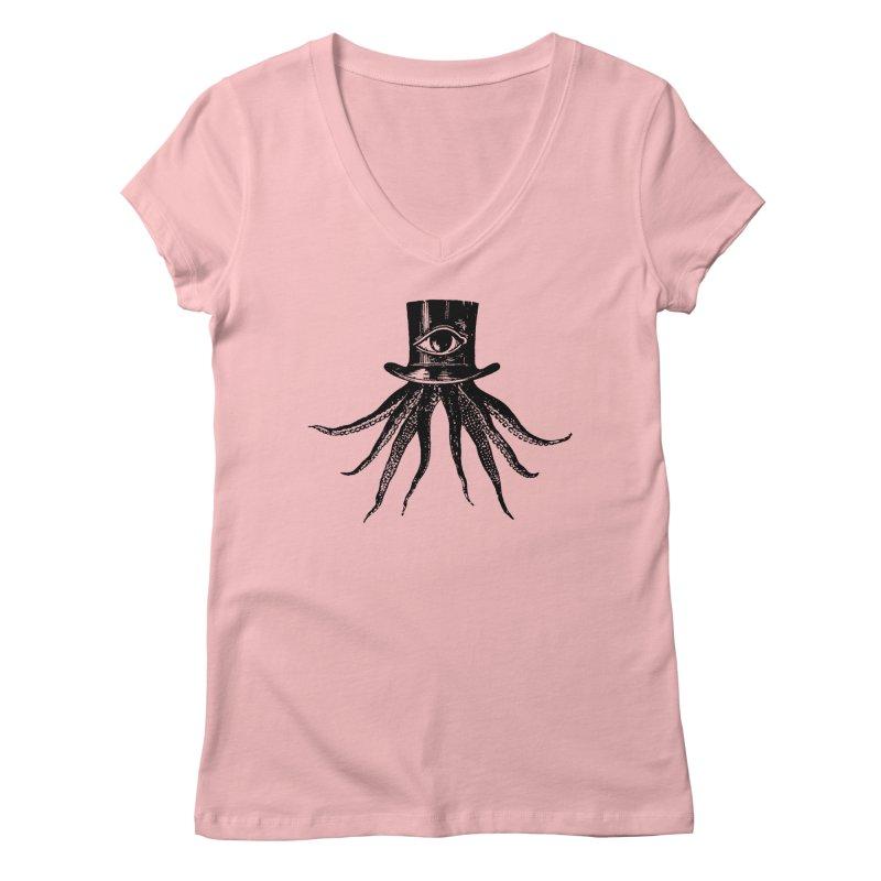 Octopus Women's V-Neck by The Bulgrin Shop