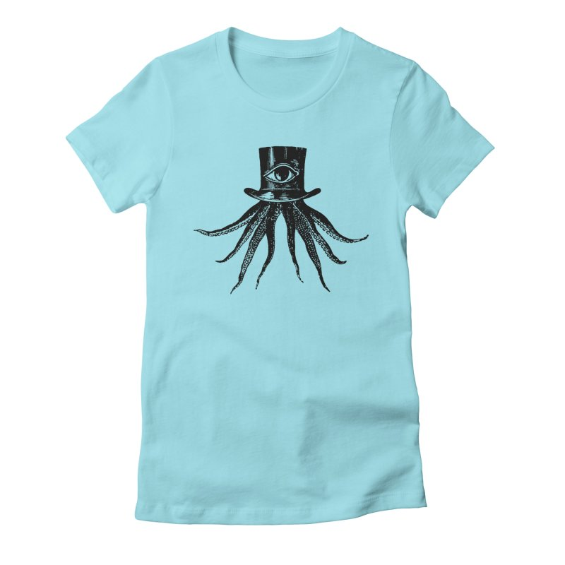 Octopus Women's Fitted T-Shirt by The Bulgrin Shop