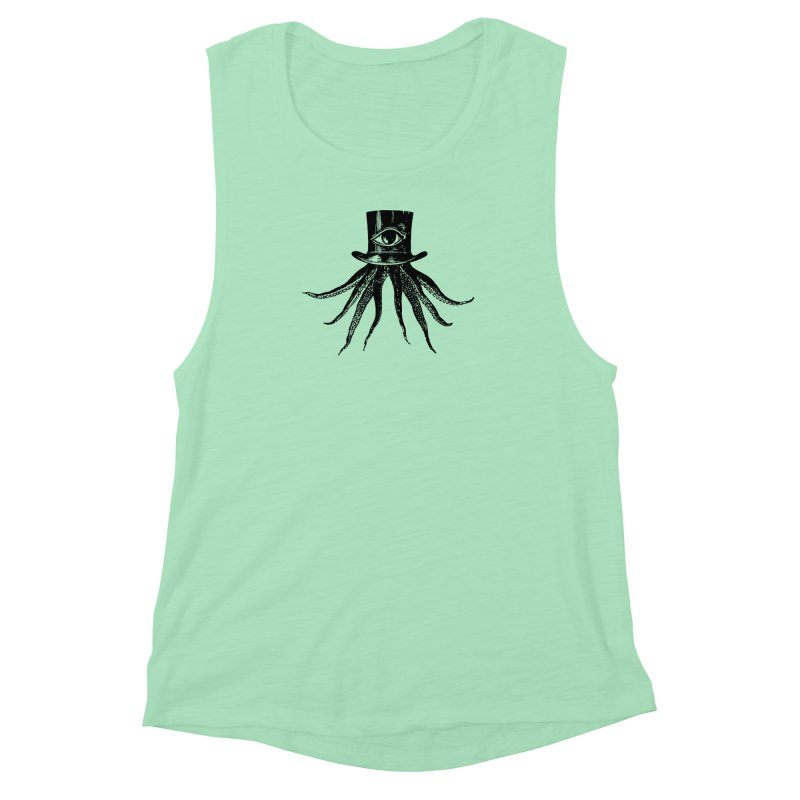 Octopus Women's Muscle Tank by The Bulgrin Shop