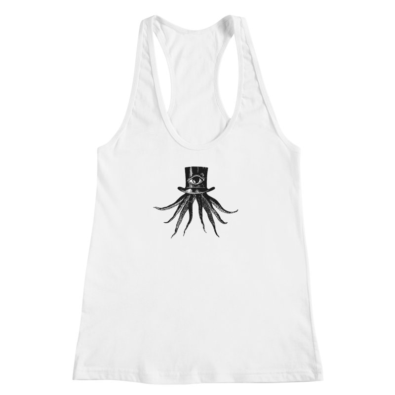 Octopus Women's Racerback Tank by The Bulgrin Shop