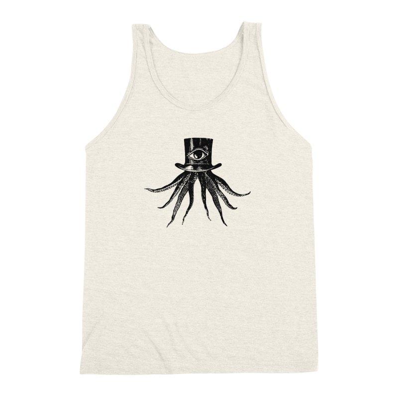 Octopus Men's Triblend Tank by The Bulgrin Shop