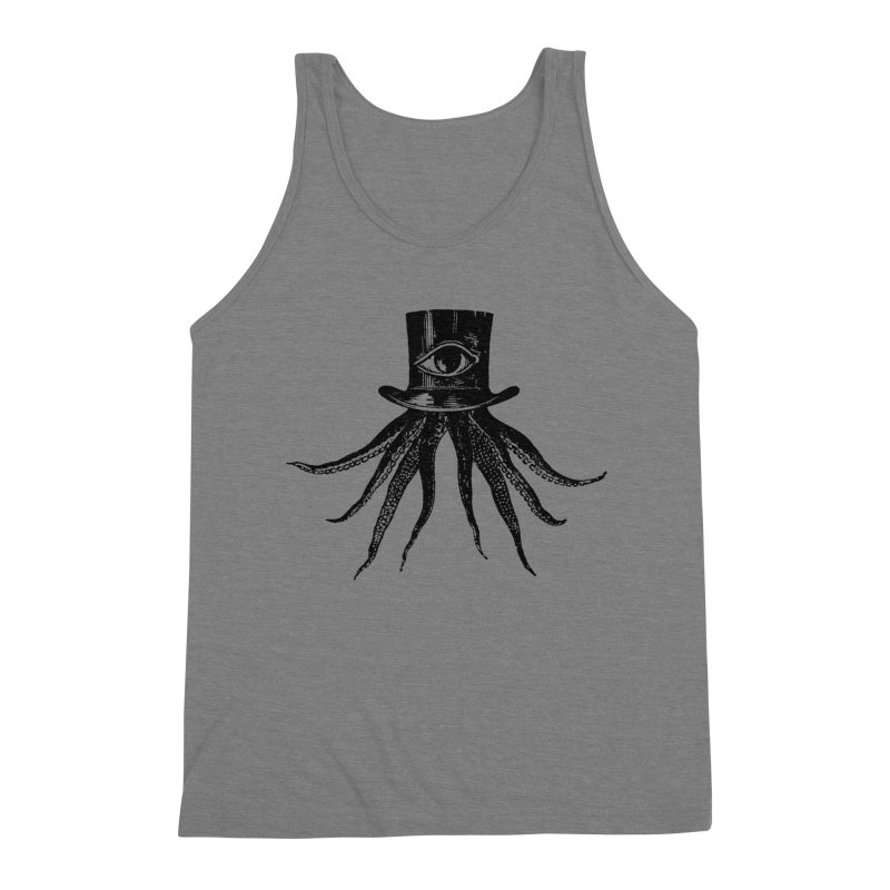 Octopus Men's Triblend Tank by The Bulgrin Shop