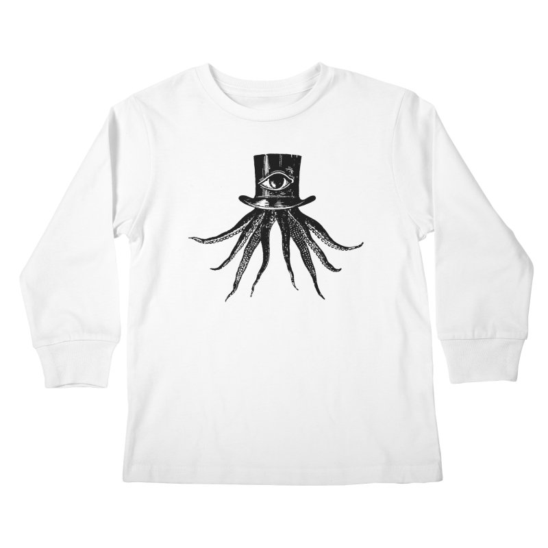 Octopus Kids Longsleeve T-Shirt by The Bulgrin Shop