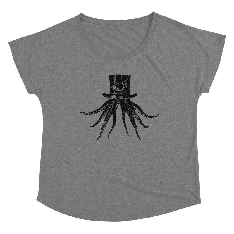 Octopus Women's Scoop Neck by The Bulgrin Shop