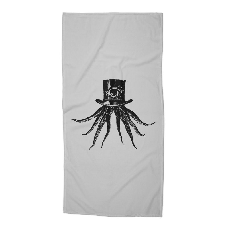 Octopus Accessories Beach Towel by The Bulgrin Shop