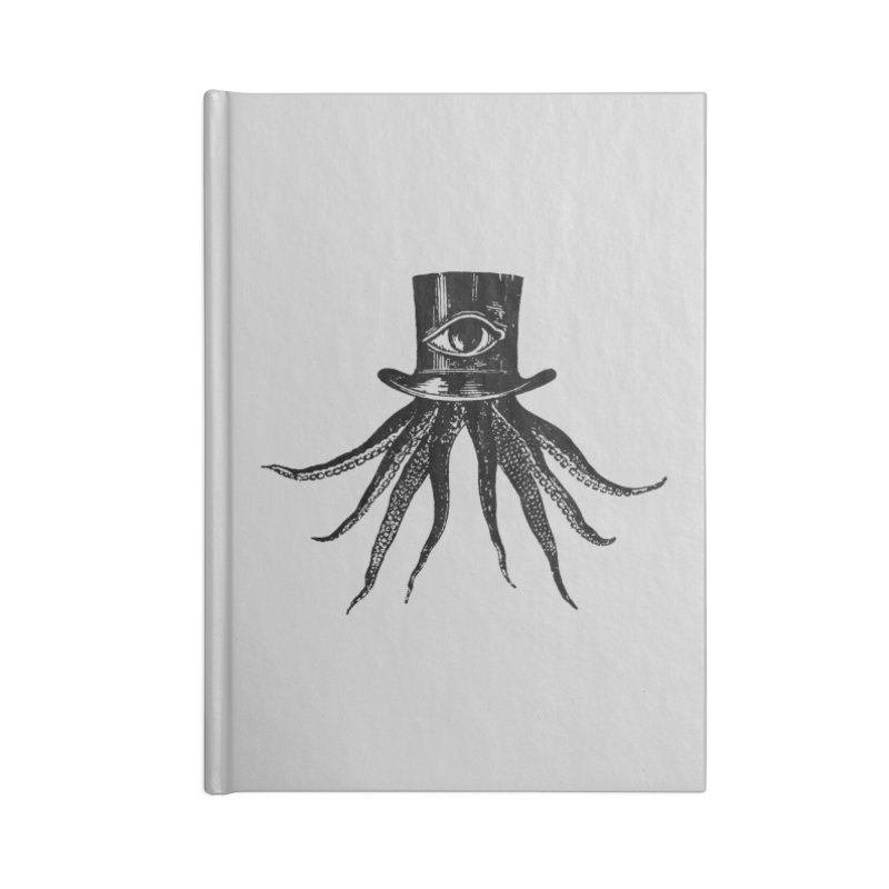Octopus Accessories Lined Journal Notebook by The Bulgrin Shop
