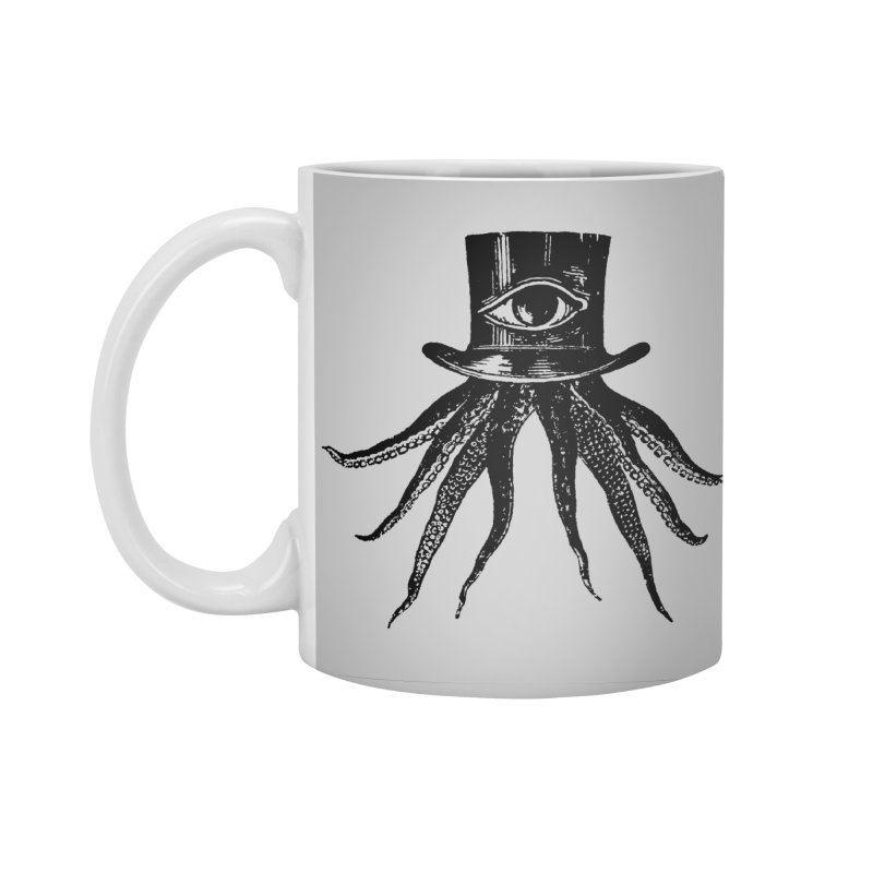 Octopus Accessories Standard Mug by The Bulgrin Shop