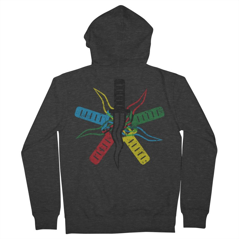 Five Knives Men's French Terry Zip-Up Hoody by The Bulgrin Shop