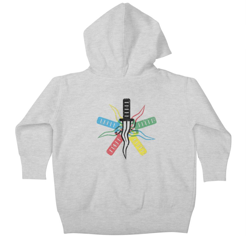 Five Knives Kids Baby Zip-Up Hoody by The Bulgrin Shop