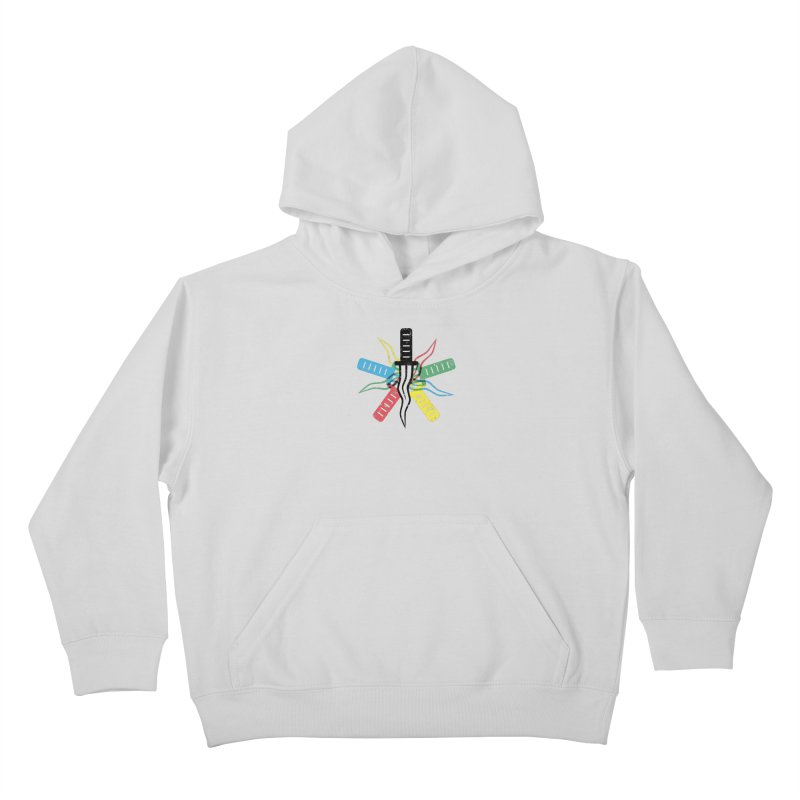 Five Knives Kids Pullover Hoody by The Bulgrin Shop