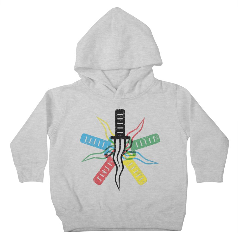 Five Knives Kids Toddler Pullover Hoody by The Bulgrin Shop