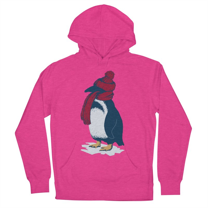 The Penguin has a cold Women's French Terry Pullover Hoody by The Bulgrin Shop