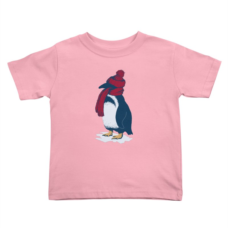 The Penguin has a cold Kids Toddler T-Shirt by The Bulgrin Shop