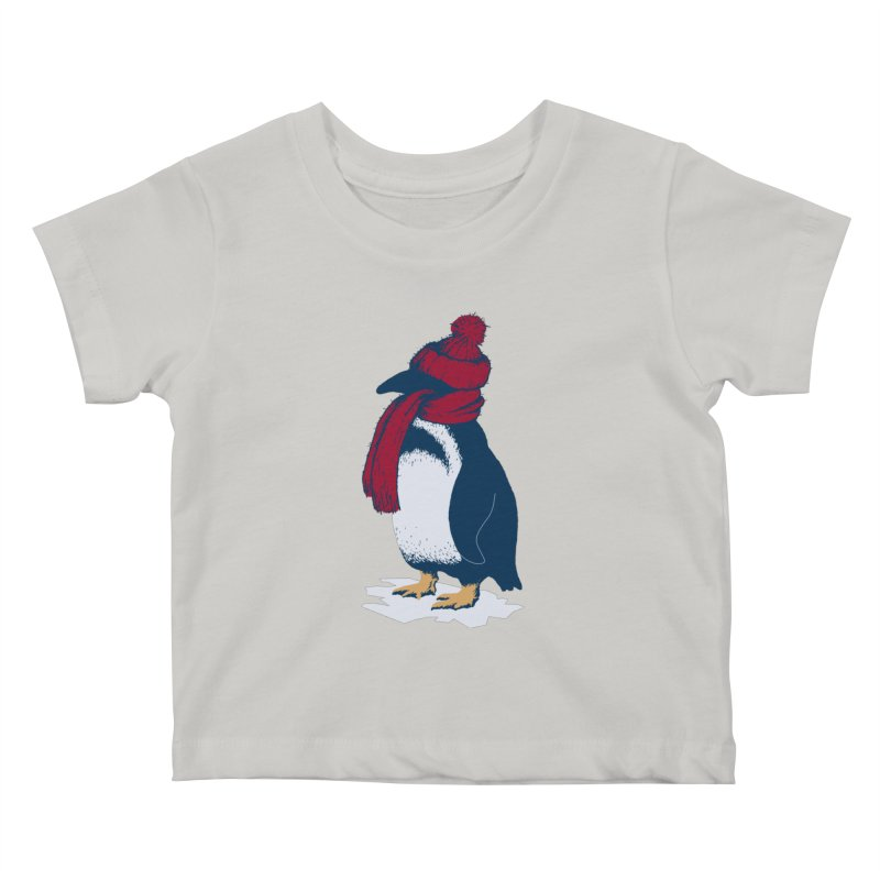 The Penguin has a cold Kids Baby T-Shirt by The Bulgrin Shop