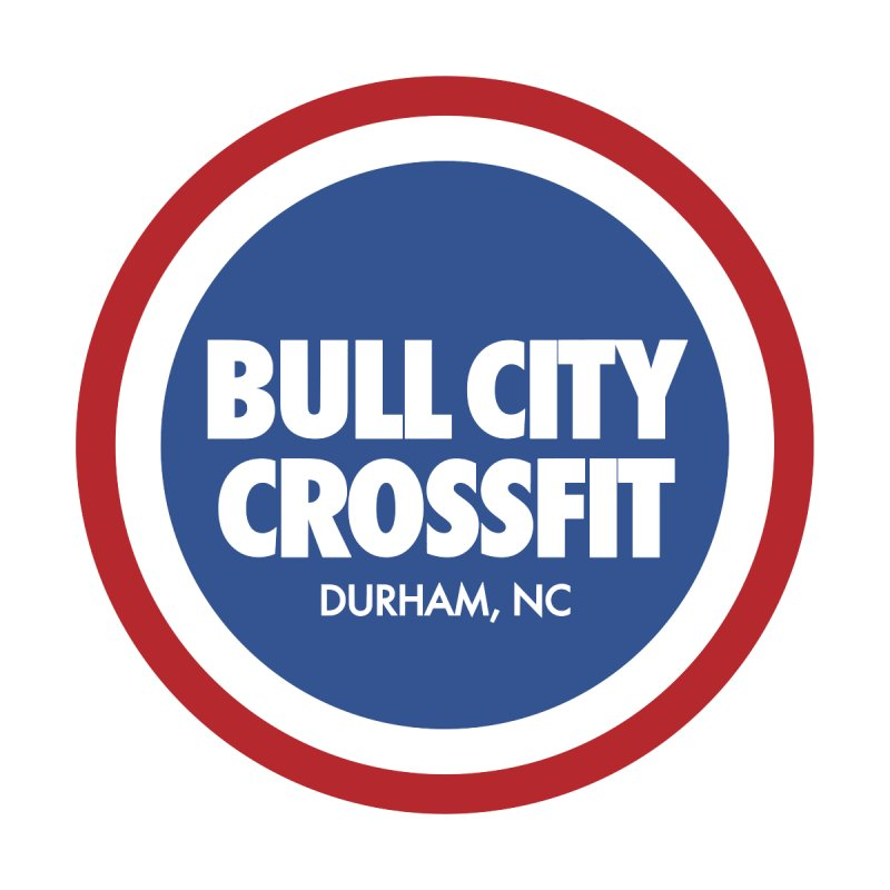 Bull City Logo (Red, White and Blue) by Bull City CrossFit